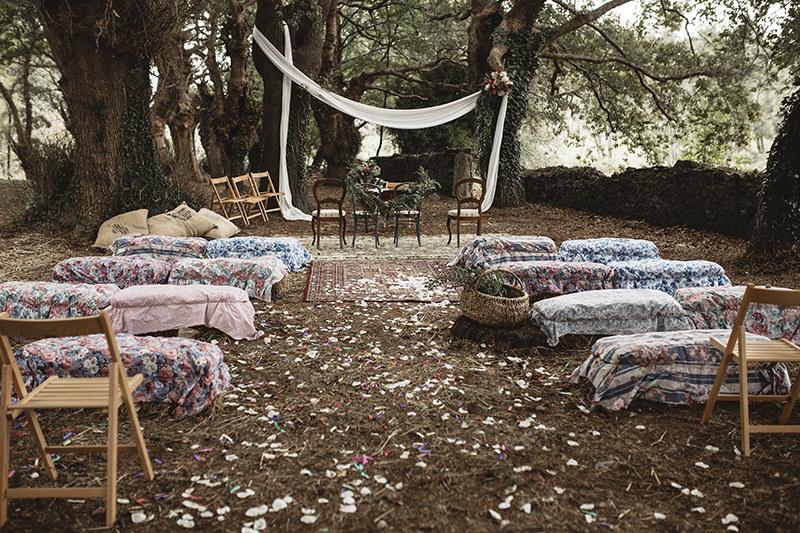 Huis Clos ceremonica rustica Calista One blog lista de bodas 15