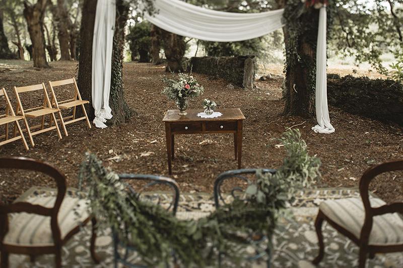 Huis Clos ceremonica rustica Calista One blog lista de bodas 6