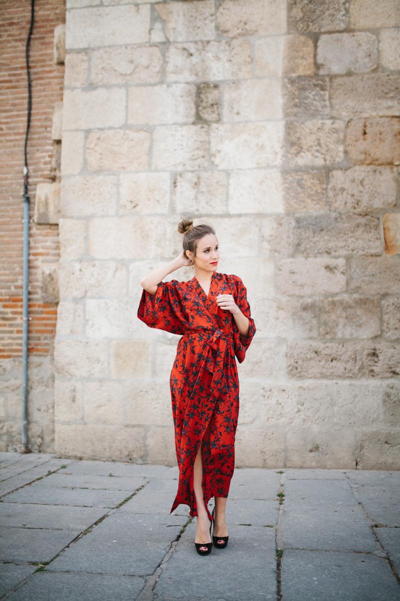 Invitada perfecta calista one Maison Shangai vestido rojo 13