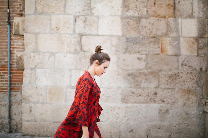 Invitada perfecta calista one Maison Shangai vestido rojo 14