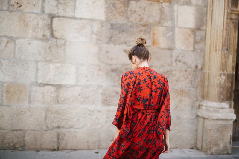 Invitada perfecta calista one Maison Shangai vestido rojo 2