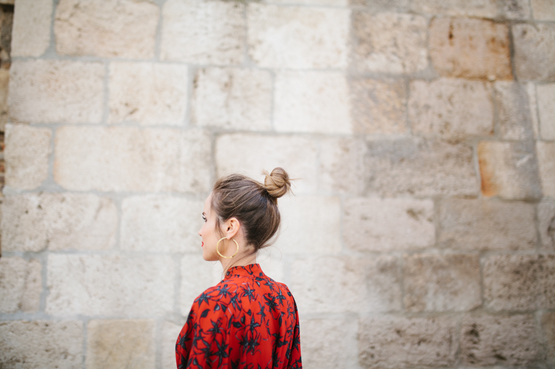 Invitada perfecta calista one Maison Shangai vestido rojo 5