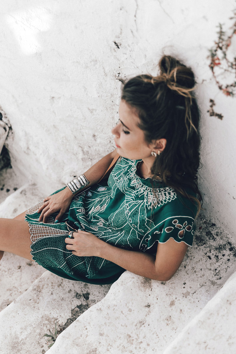 Dress code outfit picnic rosa y verde calista one summer party 5