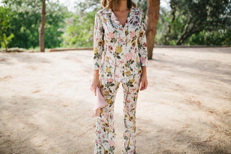 Invitada perfecta pijama flores sophie lucy 3