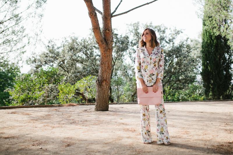 Invitada perfecta pijama flores sophie lucy 8