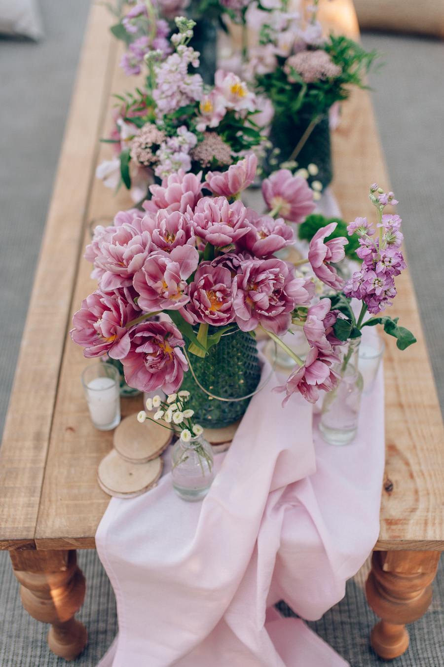 Flores para decorar tipis chill out 1