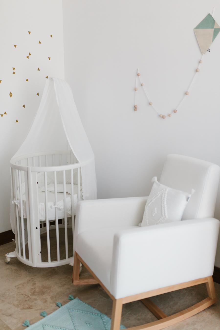 La habitación de Beltrán. Una habitación de bebé de estilo nórdico