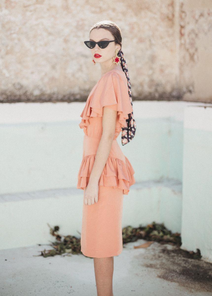 Vestido Andrea cherubina