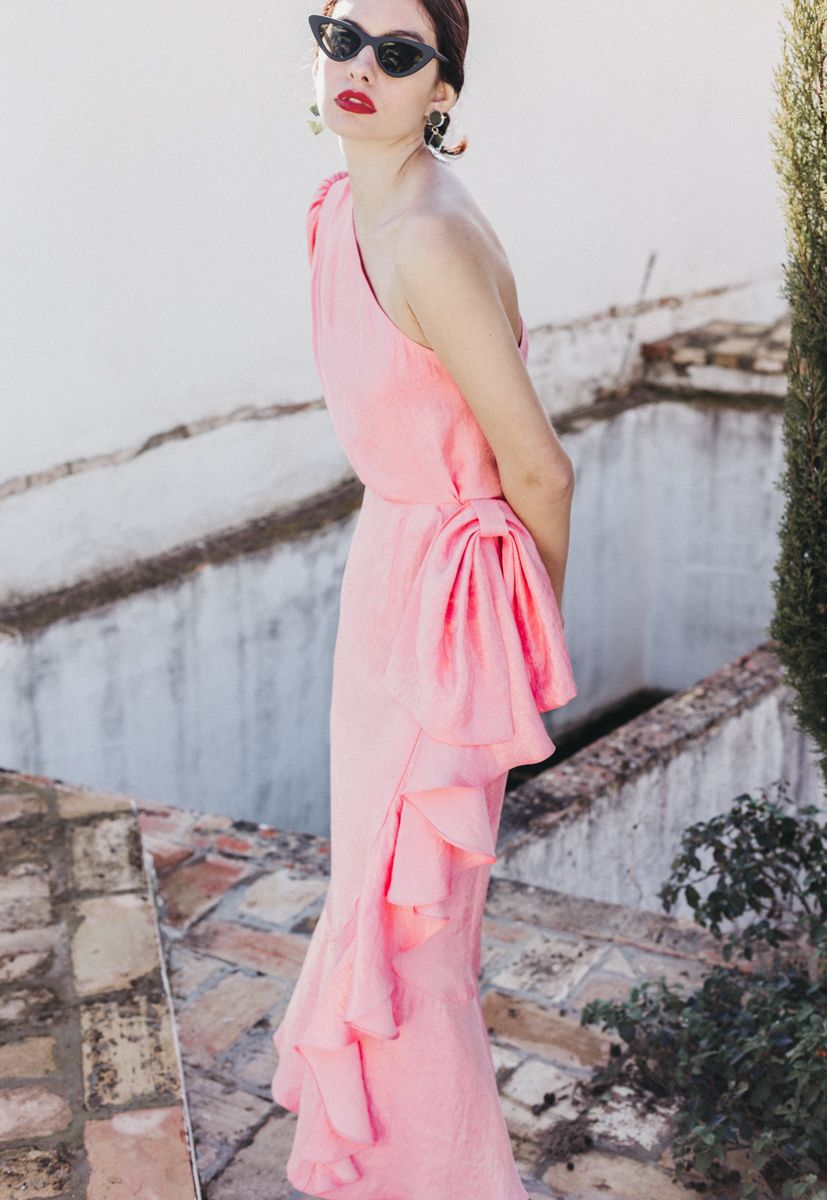 Vestido Guindilla Rosé cherubina