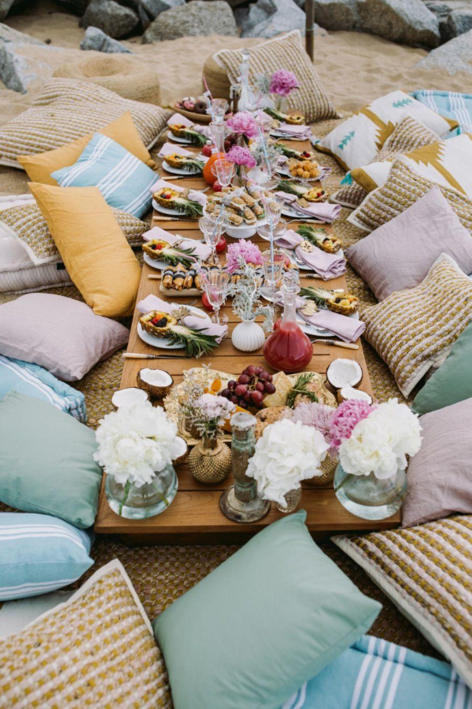 ideas bridal party en la playa