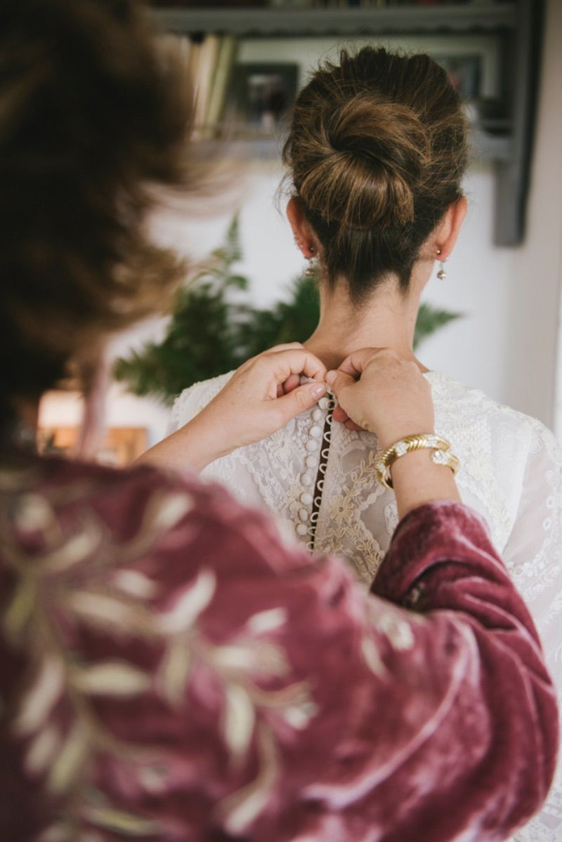 peinado novia con estilo Cecilia Junquera