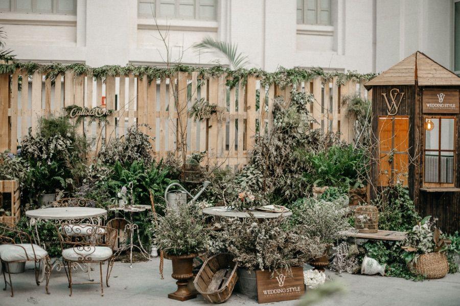 El jardín secreto de Calista One en las 1001 bodas